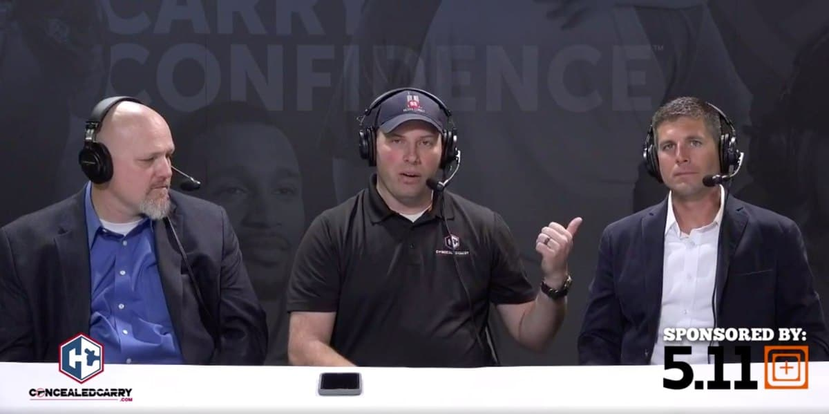 Concealed Carry, Inc Live Broadcast at the 2019 USCCA Concealed Carry Expo